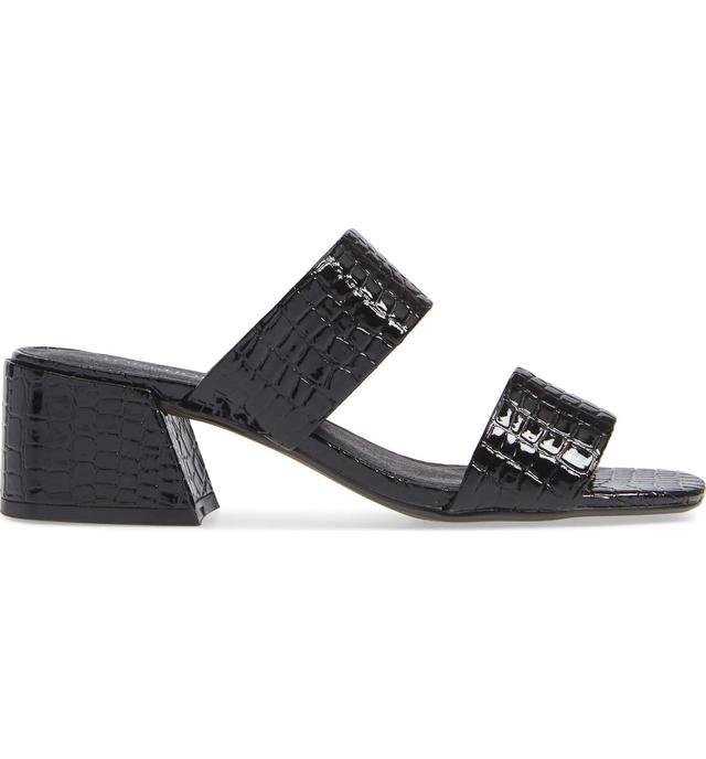Downtown Croc Embossed Sandal