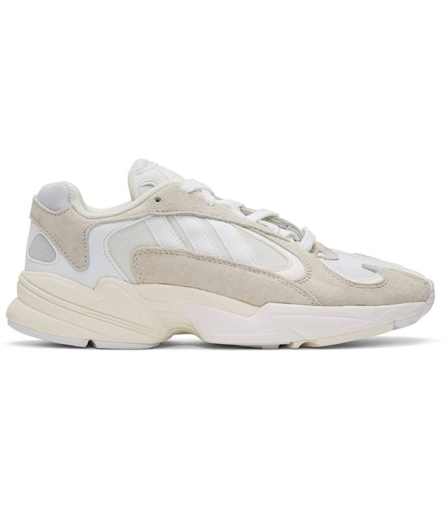 Adidas White Yung-1 Sneakers