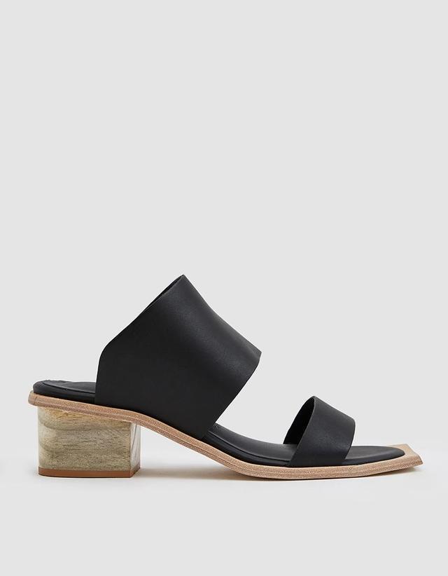 Feline Wood Heel Sandal