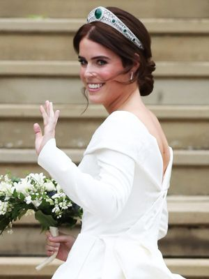Princess Eugenie Wore the Royal Family's Go-To Nail Polish on Her Wedding Day