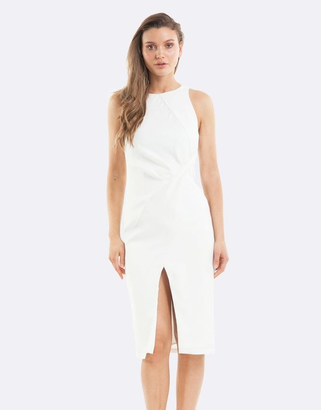 Amelius Blanco Dress