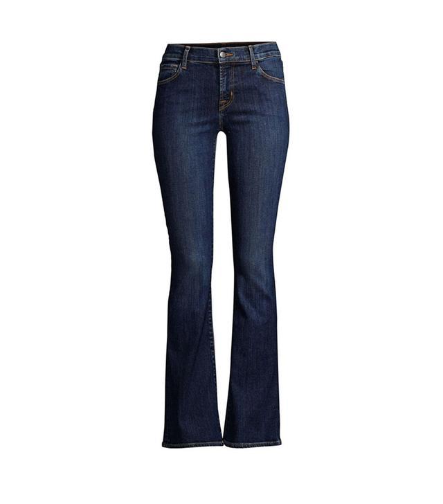 J Brand Sallie 32 Mid-Rise Bootcut Jeans