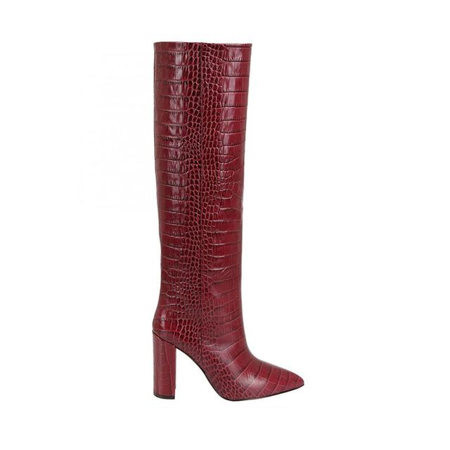 Paris Texas Red Cuissard Boots