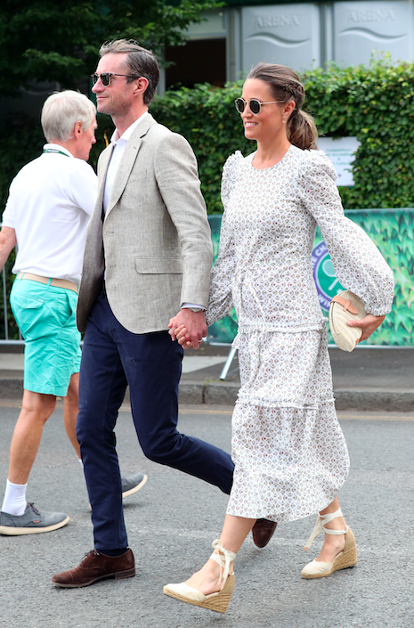 Pippa Middleton's Best Maternity Outfits