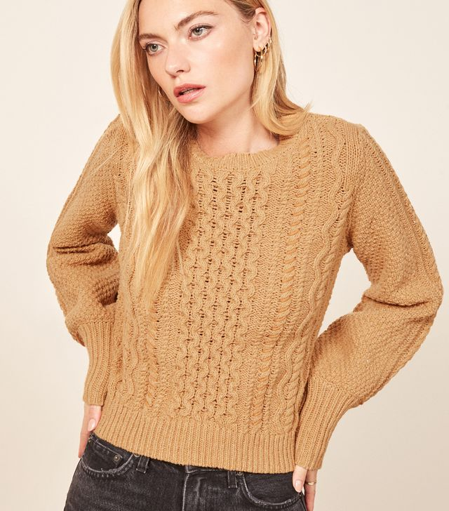 La Ligne X Reformation Sail-Away-With-Me Sweater