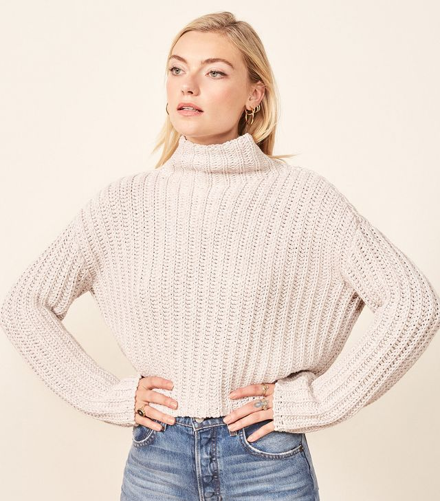 La Ligne X Reformation Never-Let-Me-Go Sweater