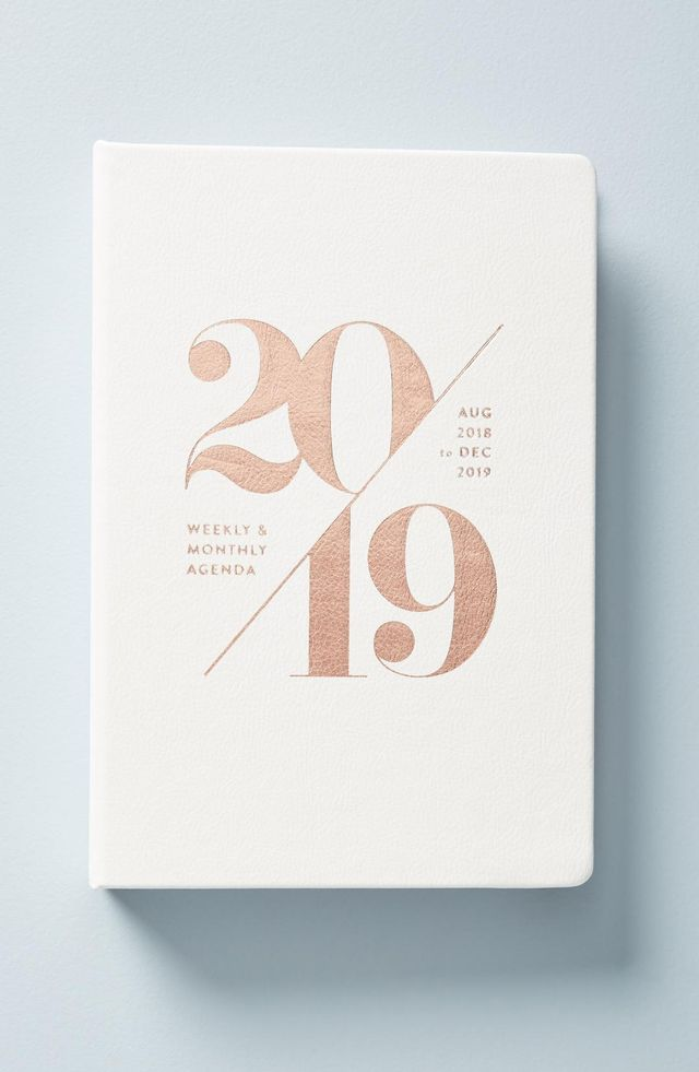 Anthropologie Mila 17-Month Planner Holiday party etiquette