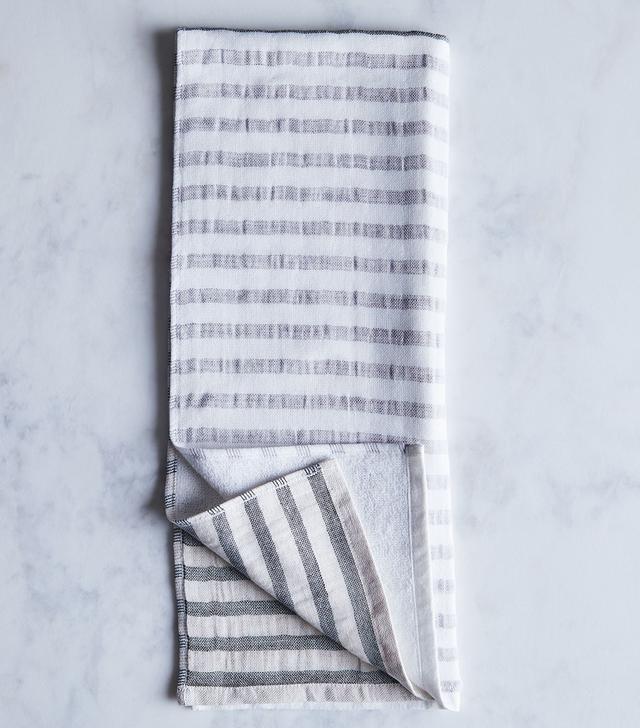 Morihata International Striped Linen & Cotton Japanese Bath Towels