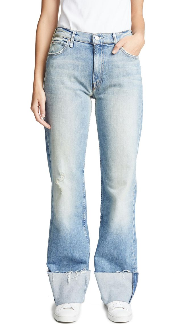 The Dusty Cuff Fray Jeans