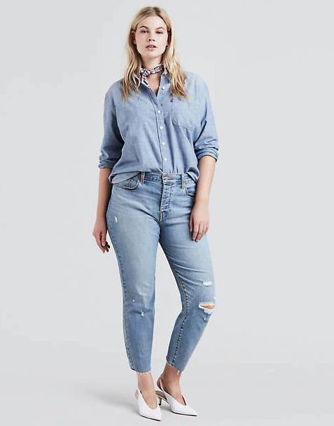 Levi's Wedgie Fit Jeans (Plus Size)