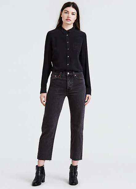 Levi's Wedgie Fit Straight Jeans