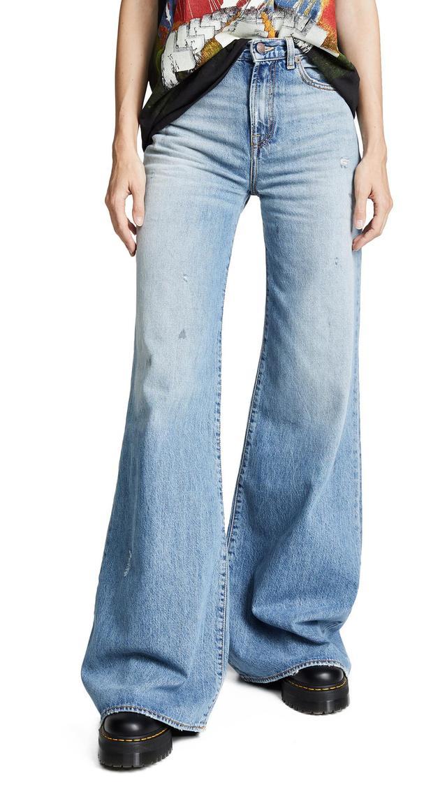 Raegan Wide Leg Jeans