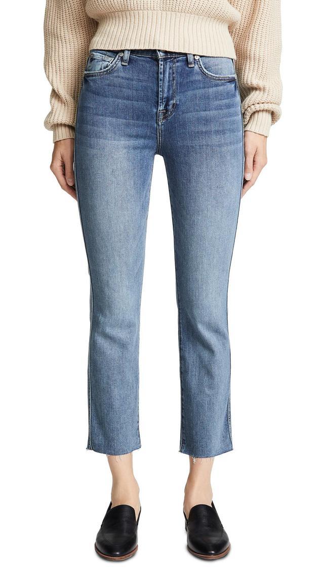 Edie B(air) Authentic Raw Hem Jeans
