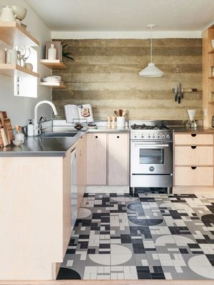This Gorgeous Kitchen Looks Way Bigger Than Just 85 Square Feet