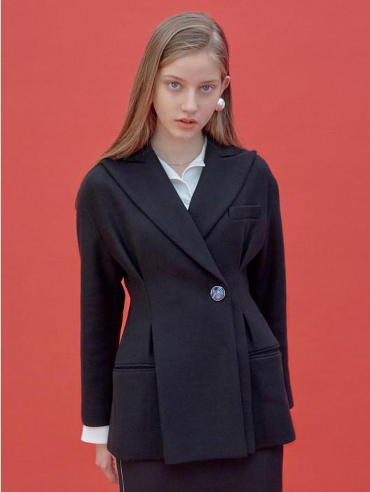 FRONTROW [FRONTROW X MAISONMARAIS] Hourglass Wool Jacket