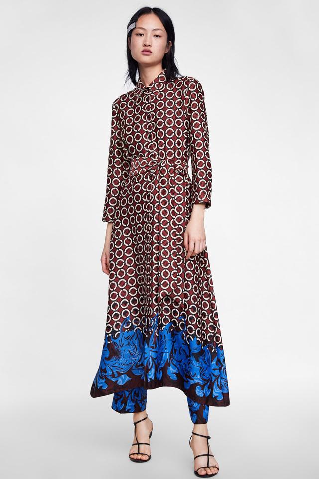 Zara Geometric Print Tunic
