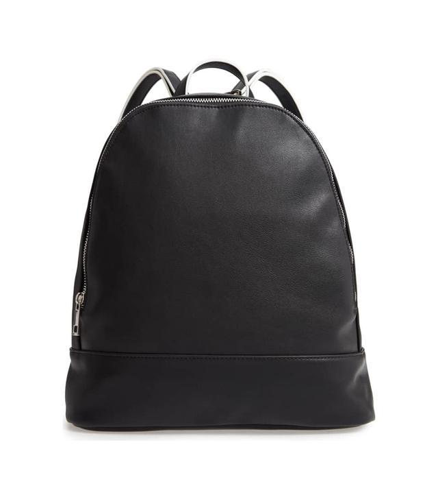 Haili Faux Leather Backpack -