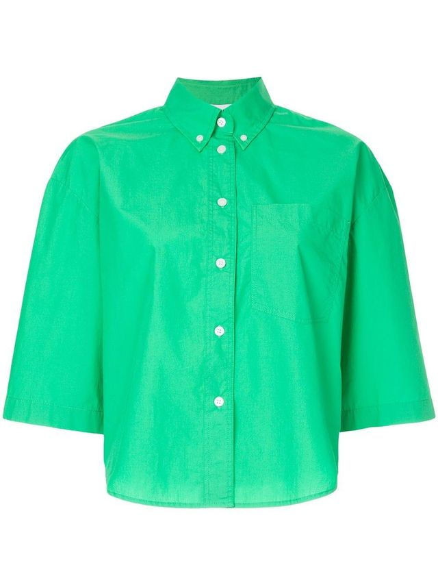 cool easy cropped shirt