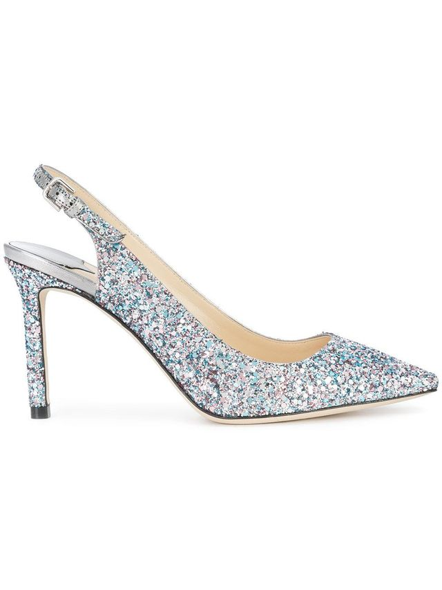 glittered Erin pumps