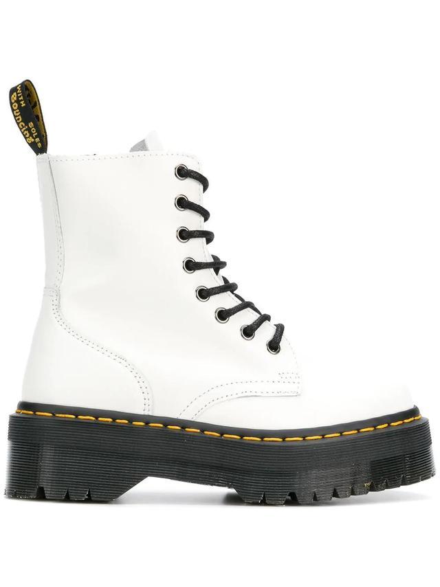 ridged platform boots