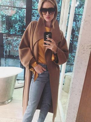Rosie Huntington-Whiteley Knows the #1 Item to Make Your Outfit Look Expensive