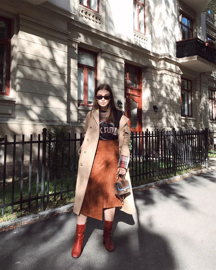 19 Ways Our Readers Are Wearing Fall's Biggest Colors
