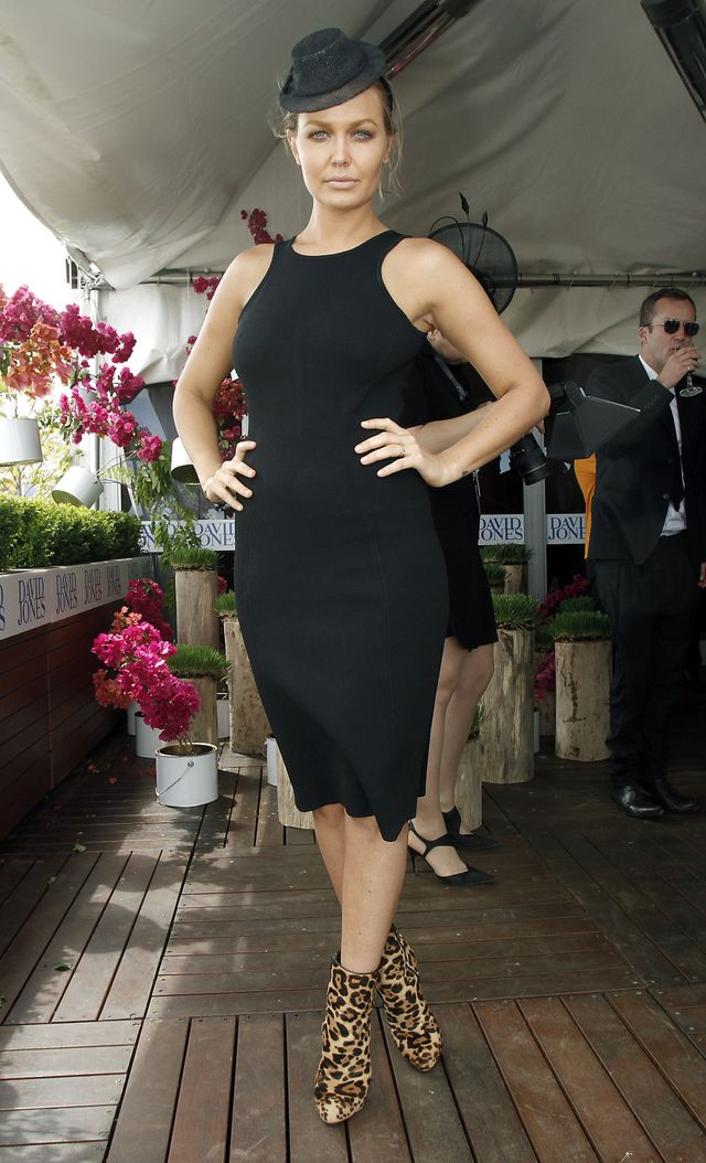 <p>Lara Worthington attends the Caulfield Cup in 2011. </p>