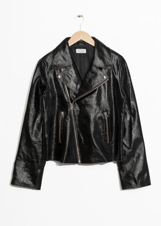 10e35b006d8 The Best Patent Leather Jackets for Fall