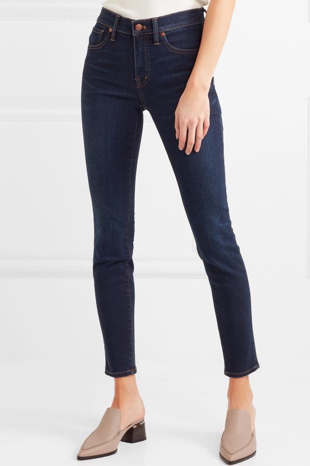 High-rise Stretch-denim Skinny Jeans