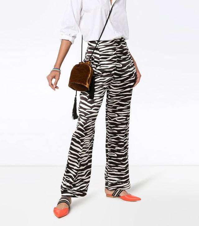 Blakey Zebra Print Trousers