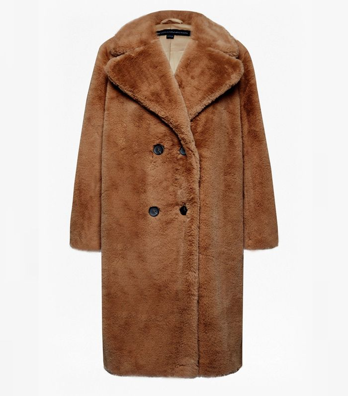 6968c60350 Pinterest · Shop · French Connection Annie Faux Shearling Coat ...