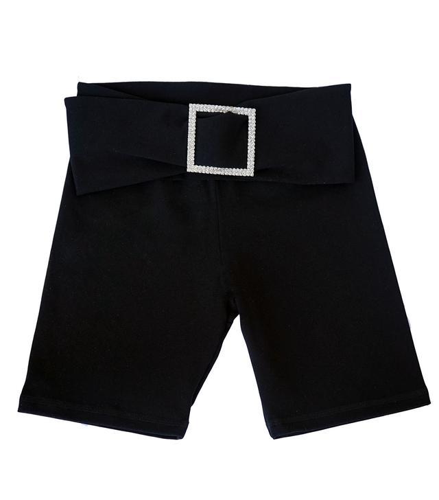Aya Muse Gara Black Cotton Shorts