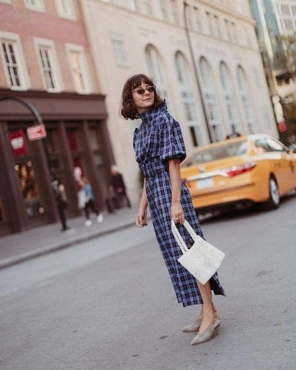 Stylish Checkered-Dress Outfits