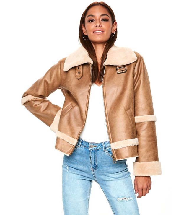Missguided Aviator Jacket
