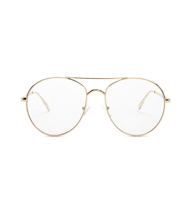 Forever 21 Metal Aviator Readers