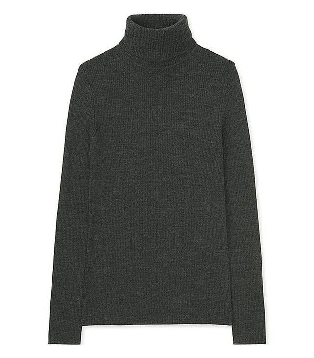 Uniqlo Ribbed Turtleneck