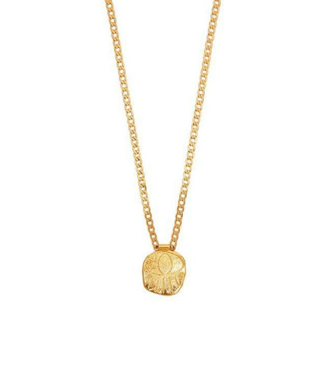 Topia Gold Plated Eye Necklace