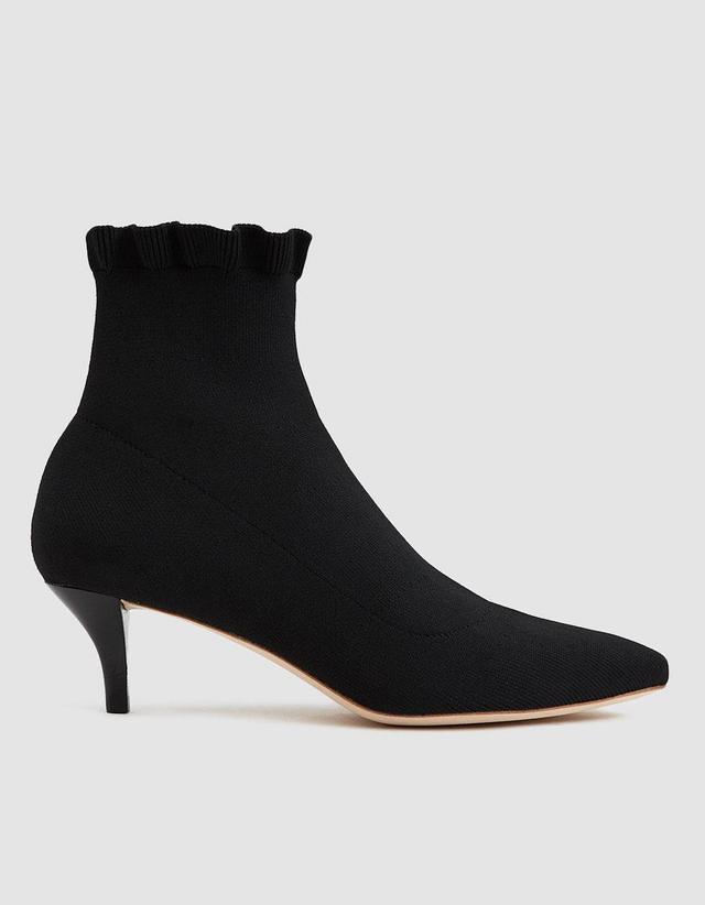 Kassidy Kitten Heel Sock Boots