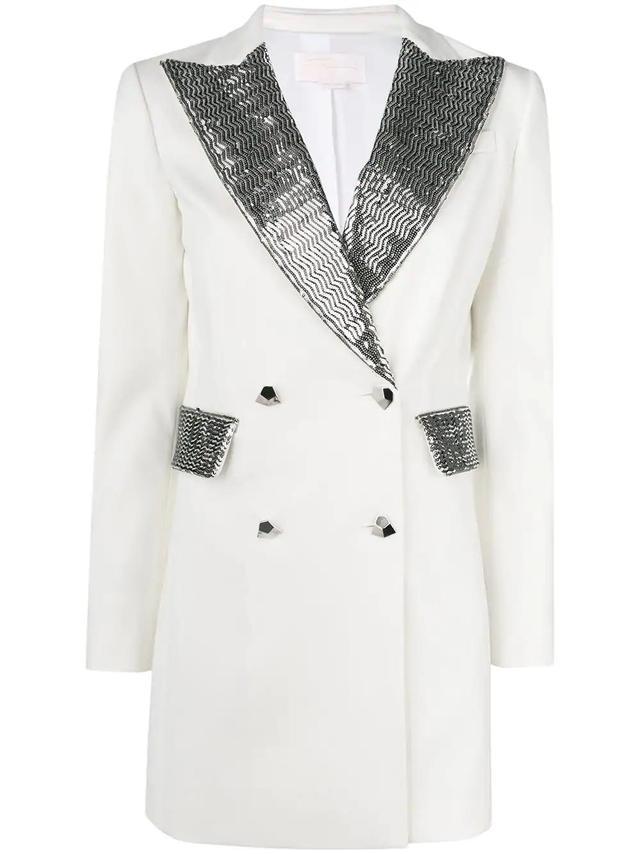 blazer party dress