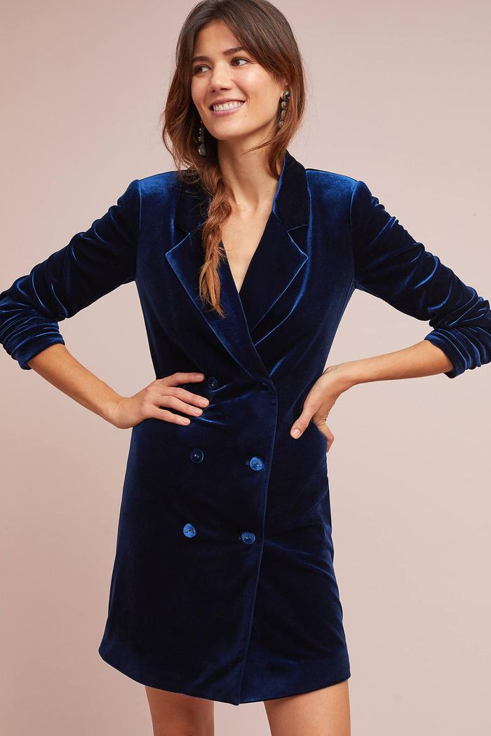 00dac25e912c These Blazer Dresses Are Perfect for Your Holiday Parties | Who What ...