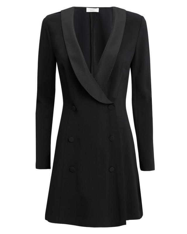 A.L.C. Couric Blazer Dress Black Zero