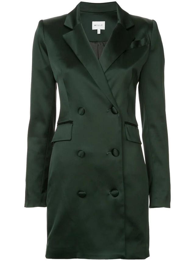 blazer style mini dress