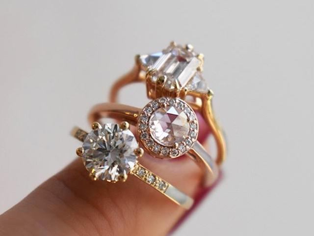 flattering engagement rings