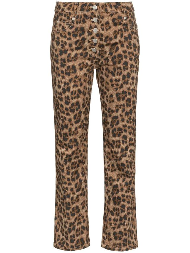 Junior Leopard Print Slim Trousers