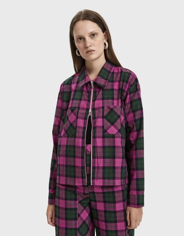 Mechanic Plaid Jacket