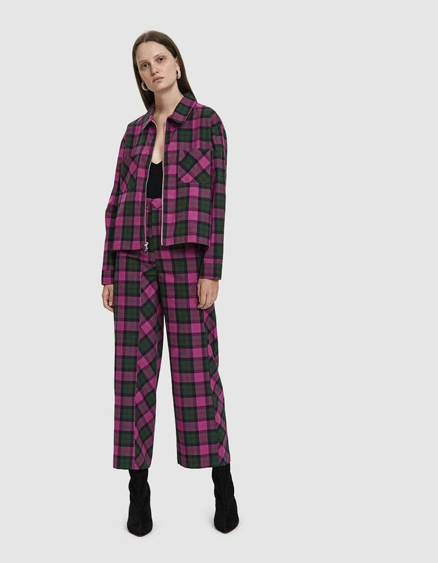Left Eye Plaid Pant