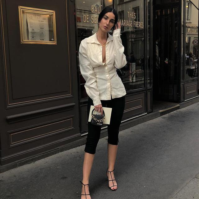 French handbag wardrobe: Jacqumus mini