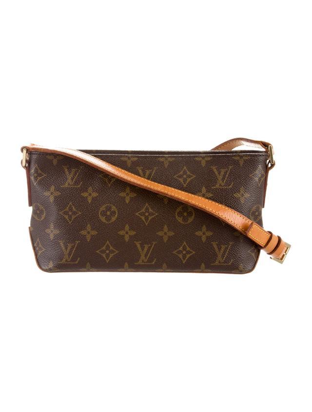 Louis Vuitton Monogram Trotteur Bag