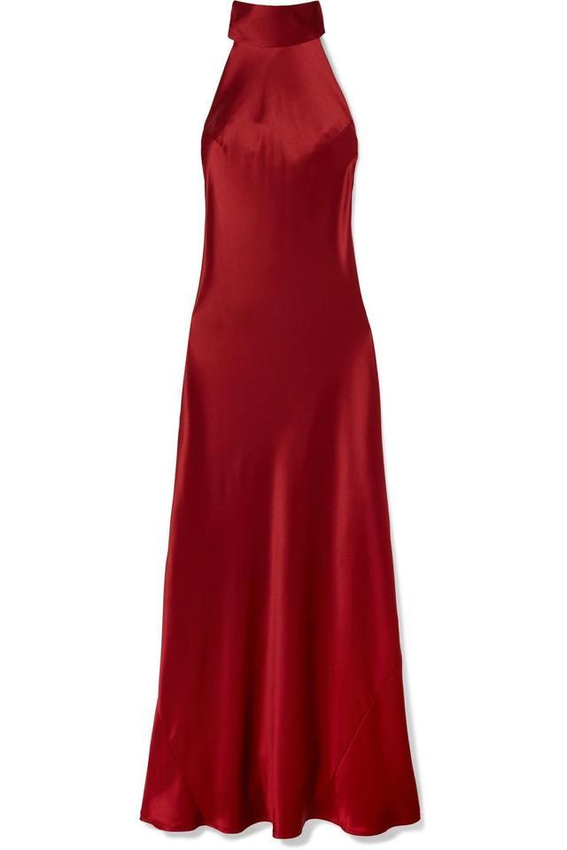 Sienna Silk-satin Gown