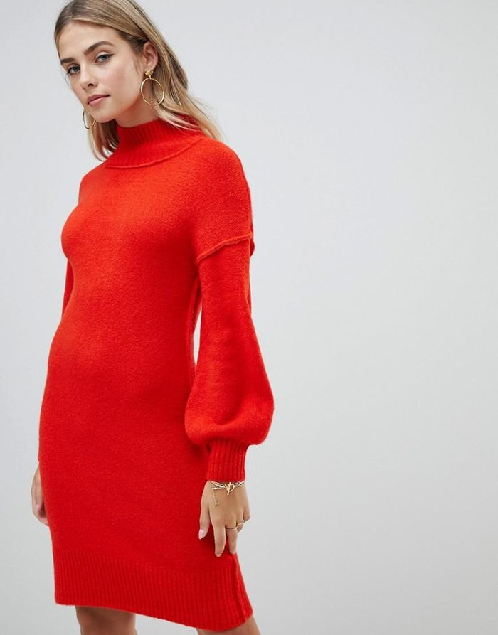 a948712944e5 23 Red Holiday Dresses to Buy Before It s Too Late